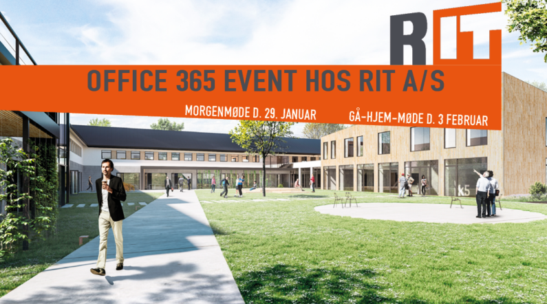 Office365 event hos RIT A/S