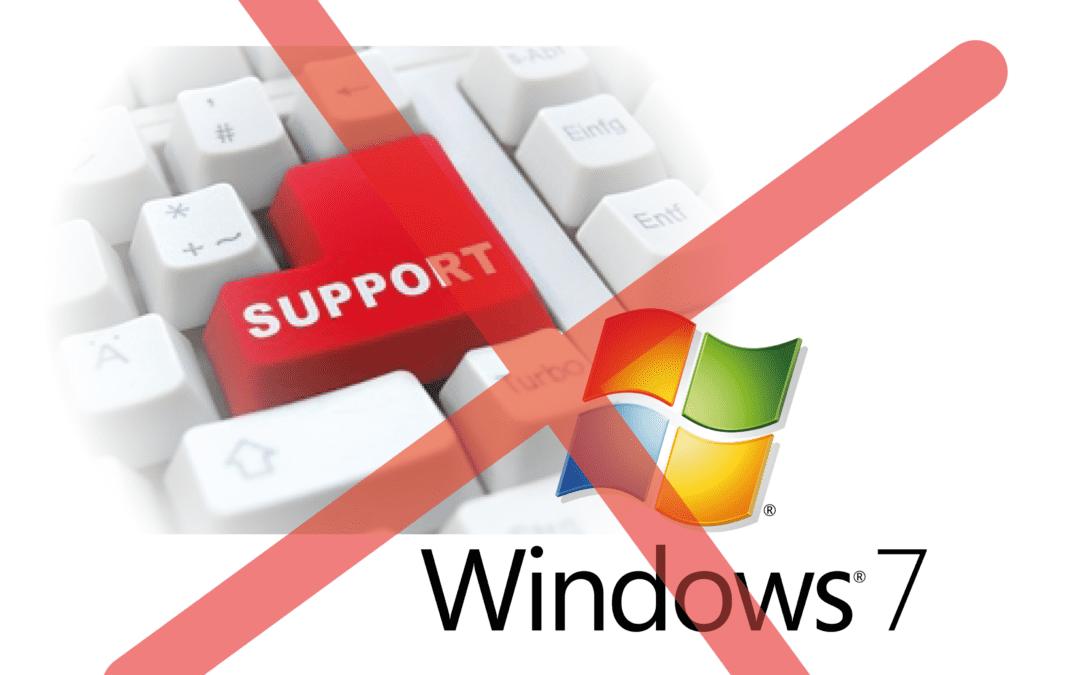 Microsoft stopper supporten på Windows 7