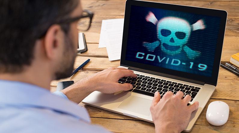 Coronavirus er en trussel for IT-sikkerheden på hjemmearbejdspladser