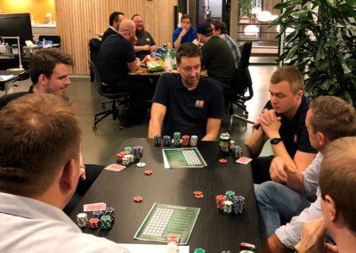 Pokeraften hos RIT A/S