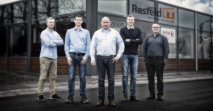 Røsfeld IT præsenterer: 5 nye medarbejdere